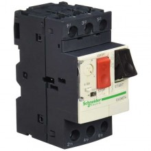 GV2ME14 10 A magnetic circuit breaker, 3 Poles, 690 VAC DIN Schneider motor protection