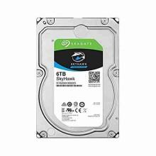 "Disque dur hard disk Seagate 3To SkyHawk Surveillance Hard Drive SATA III - 6 GB/s 7200rpm 64MB 3.5"" - ST6000VX0023"