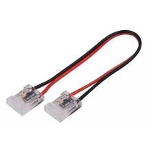 V-TAC Connettore flessibile innesto rapido per strisce LED COB di larghezza 10mm connettore 2 PIN - sku 2666