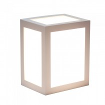 V-TAC VT-822 Lampada applique LED 12W wall light white cube bianco naturale 4000K - sku 8335