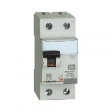 Differential thermal magnetic circuit breaker AC 1p + N 10A 30mA Bticino GC8813AC10