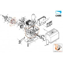 Caisse motoréducteur BZ – 119RIBZ003