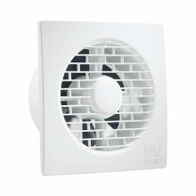 "Axial bathroom fan with integral back draught shutter Vortice Punto Filo Range MF 90/3,5"" - sku 11122"