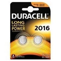 Pile au lithium Duracell DL2016 3V - Blister 2 pcs
