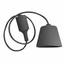 Plafond Titulaire Pendentif Ampoule E27 1M - Mod. VT-7228 SKU 3481 - Gris