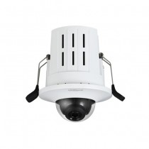 Dahua IPC-HDB4231G-AS Telecamera dome IP da incasso 2Mpx full HD 2.8mm audio slot sd wdr ivs poe ip67