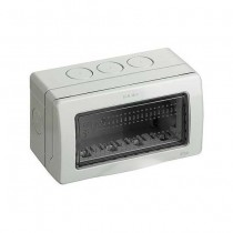BTICINO 25504 Boîtier Idrobox IP55 4 modules Matix avec porte de protection