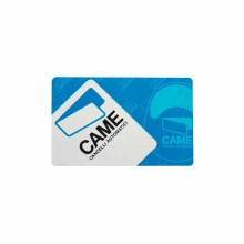 Carte transpondeur format ISO 7810 - 7813 Came TST01