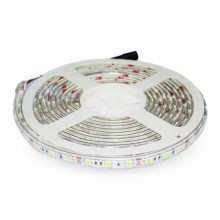 V-TAC VT-5050 LED-Streifen SMD5050 30LEDs/5M IP65 kaltweiß 6.400K - SKU 2144