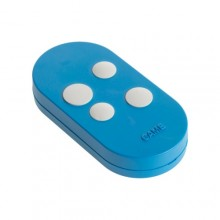 CAME HANDSENDER 4 kanal TOPD4RBS Rolling code dual frequency Blau