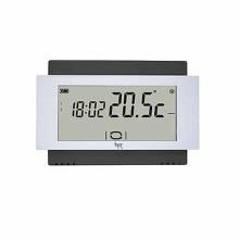 Thermostat écran tactile mur batterie noir Bpt TA/500 BK