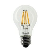 Beghelli 56402 7W Zafiro LED Bulb smd filament A60 E27 High Lumens 1000LM warm white 2700K A++