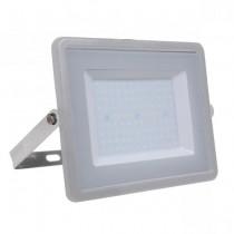 V-TAC PRO VT-106 100W Led Floodlight grey slim Chip Samsung smd high lumens day white 4000K - SKU 770