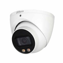 Dahua HAC-HDW2249T-A-LED telecamera Eyeball dome hdcvi ibrida 4in1 2Mpx 3.6mm starlight fullcolor audio osd ip67