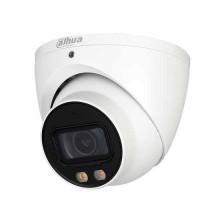 Dahua HAC-HDW2249T-A-LED telecamera Eyeball dome hdcvi ibrida 4in1 2Mpx 3.6mm starlight fullcolor audio osd ip67