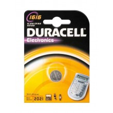 Duracell 1616 3V Lithium Battery - Pack of 1pcs
