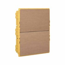 Recessed box for Line Space Yellow 24 DIN modules Bticino F315S24