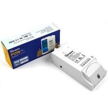 Interruttore universale mini switch smart WiFi da 15A controllo e gestione da remoto con timer e monitoraggio consumo SONOFF POWR2