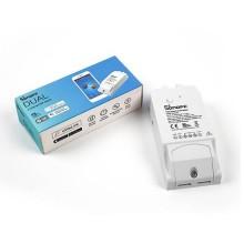 Interruttore universale smart switch WiFi controllo 2Ch linee indipendenti con temporizzazione SONOFF DUALR2
