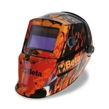 Maschera per saldatura ad elettrodo con schermo LCD oscuramento automatico Beta 7042LCD
