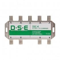 Multiplexer SSC-4 x TV-SAT Combiner QUAD