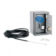 001H3001 CAME Contenitore con manopola e pulsante a chiave
