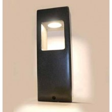 V-TAC VT-898-D 12W Led garden Concrete light lamp dark grey body IP65 warm white 3000K - SKU 8698