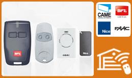 telecomandi per cancelli automatici